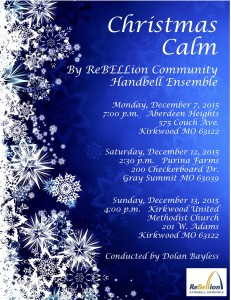 Christmas Calm Flyer